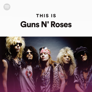 this is guns n 39 roses on spotify. Black Bedroom Furniture Sets. Home Design Ideas